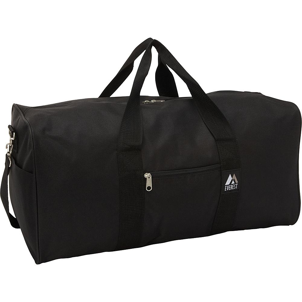 Everest Gear Bag - Medium Black - Everest Travel Duffels - Duffels, Travel Duffels