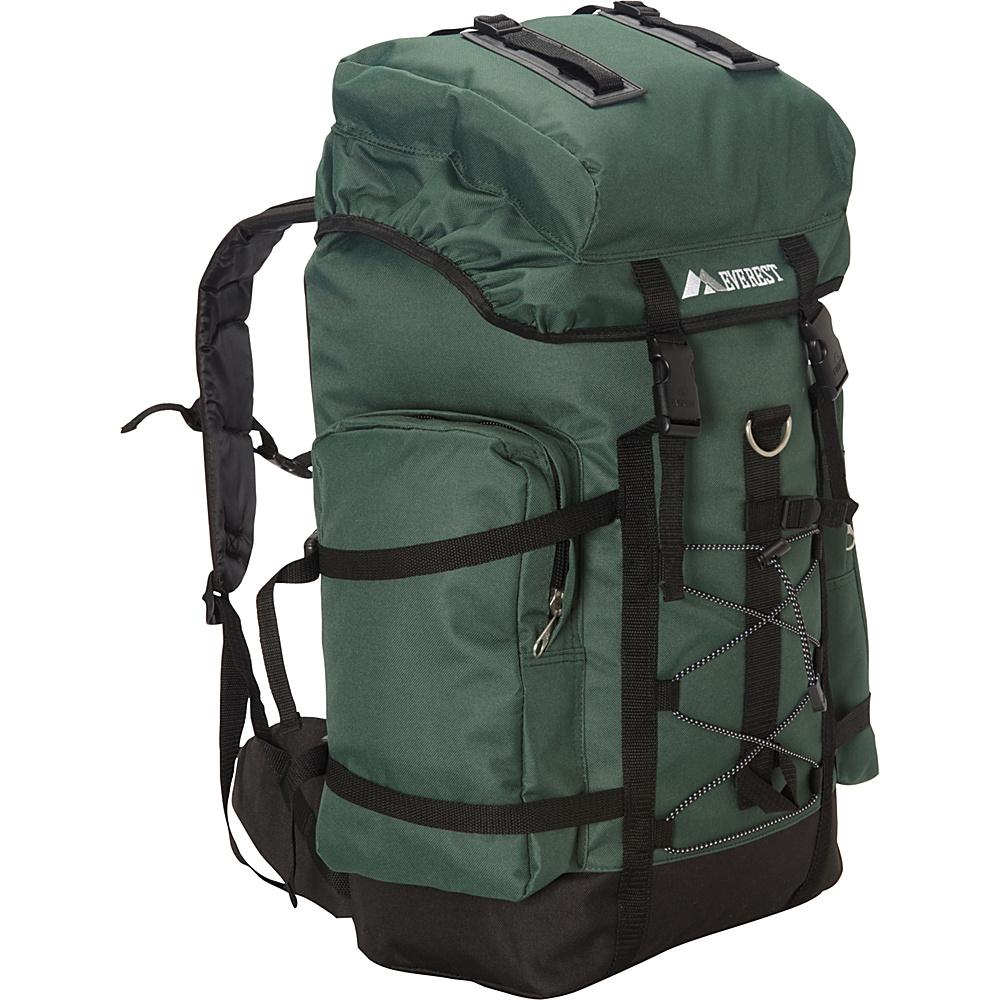 Everest Hiking Pack Green/Black - Everest Backpacking Packs - Outdoor, Backpacking Packs