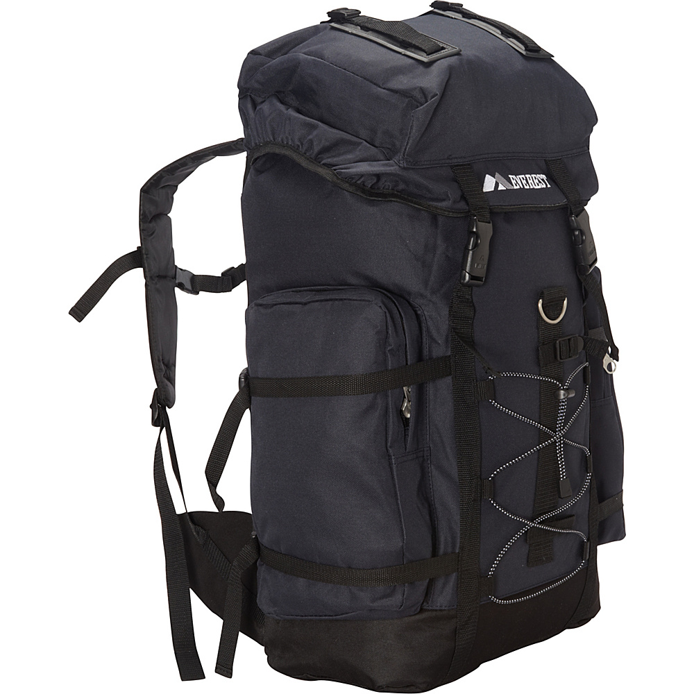 Everest Hiking Pack Navy/Black - Everest Backpacking Packs - Outdoor, Backpacking Packs