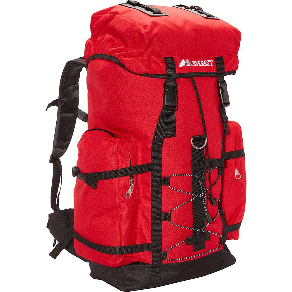 Everest Hiking Pack Red/Black - Everest Backpacking Packs - Outdoor, Backpacking Packs