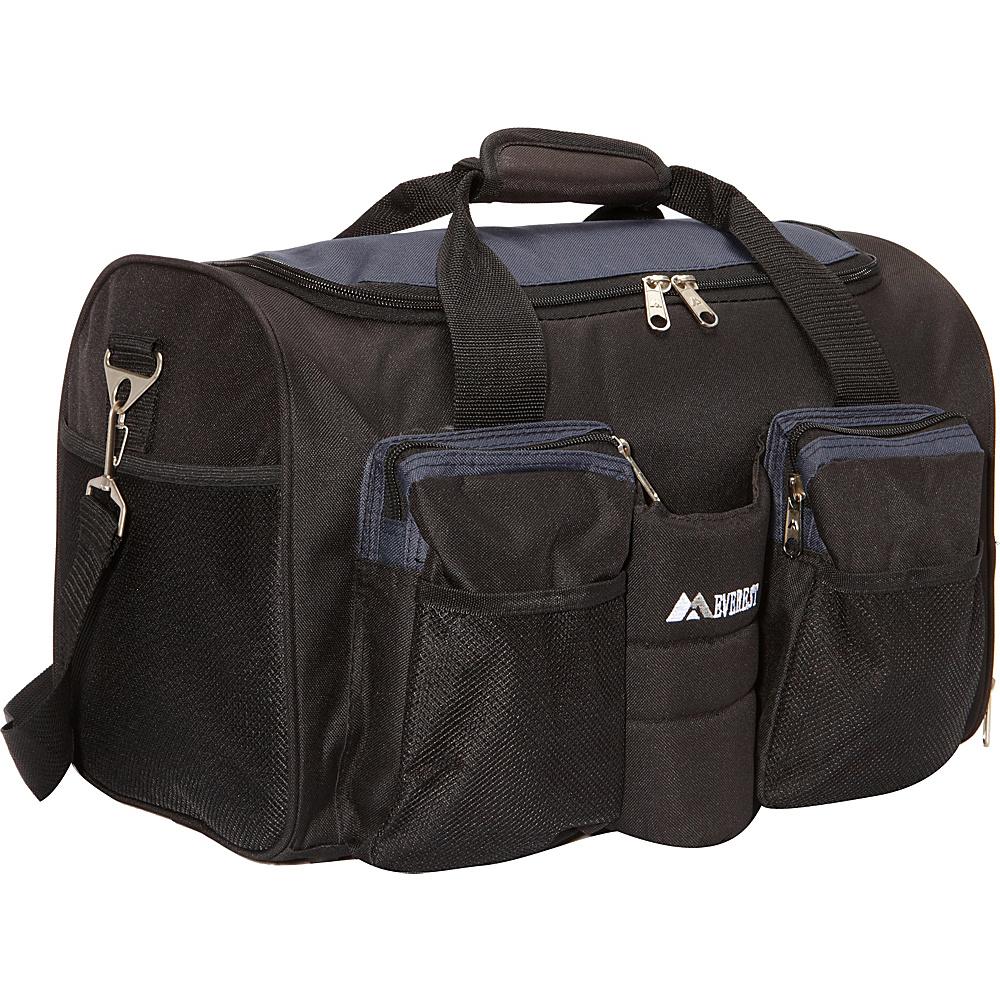 Everest Gym Bag with Wet Pocket Navy/Black - Everest Gym Duffels - Duffels, Gym Duffels