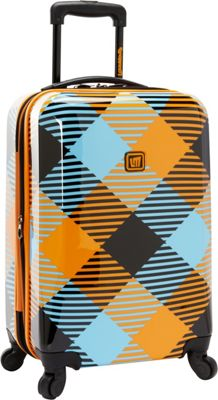 Loudmouth Microwave 22 inch Expandable Carry-On Spinner Multi-Color - Loudmouth Hardside Carry-On