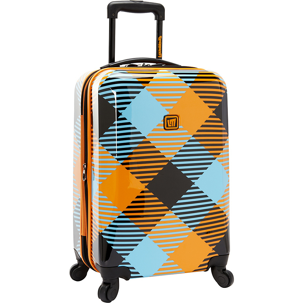 "Loudmouth Microwave 22"" Expandable Carry-On Spinner Multi-Color - Loudmouth Hardside Carry-On"