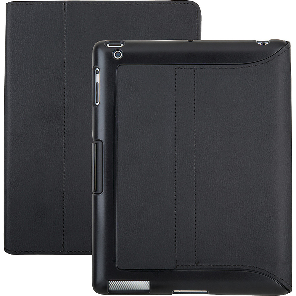 Speck iPad with RD iGuy Stand Black Vegan Leather Speck Electronic Cases