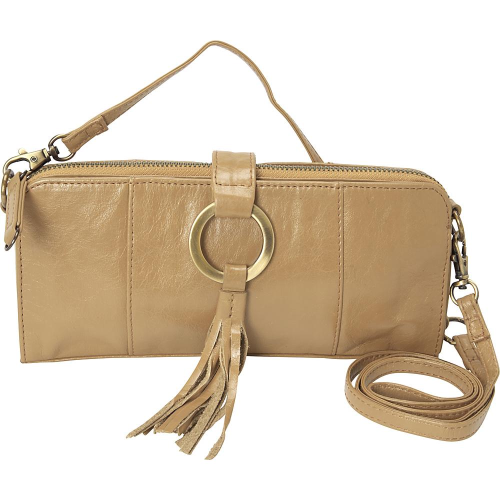 Latico Leathers Emmanuelle Shoulder Bag Almond - Latico Leathers Leather Handbags - Handbags, Leather Handbags