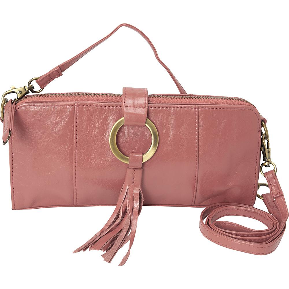Latico Leathers Emmanuelle Shoulder Bag Pink - Latico Leathers Leather Handbags - Handbags, Leather Handbags