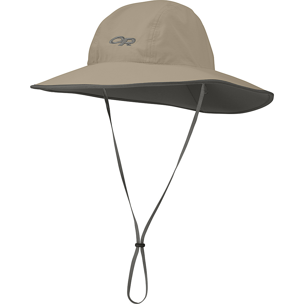 Outdoor Research Aquifer Sombrero M - Khaki - Outdoor Research Hats/Gloves/Scarves - Fashion Accessories, Hats/Gloves/Scarves