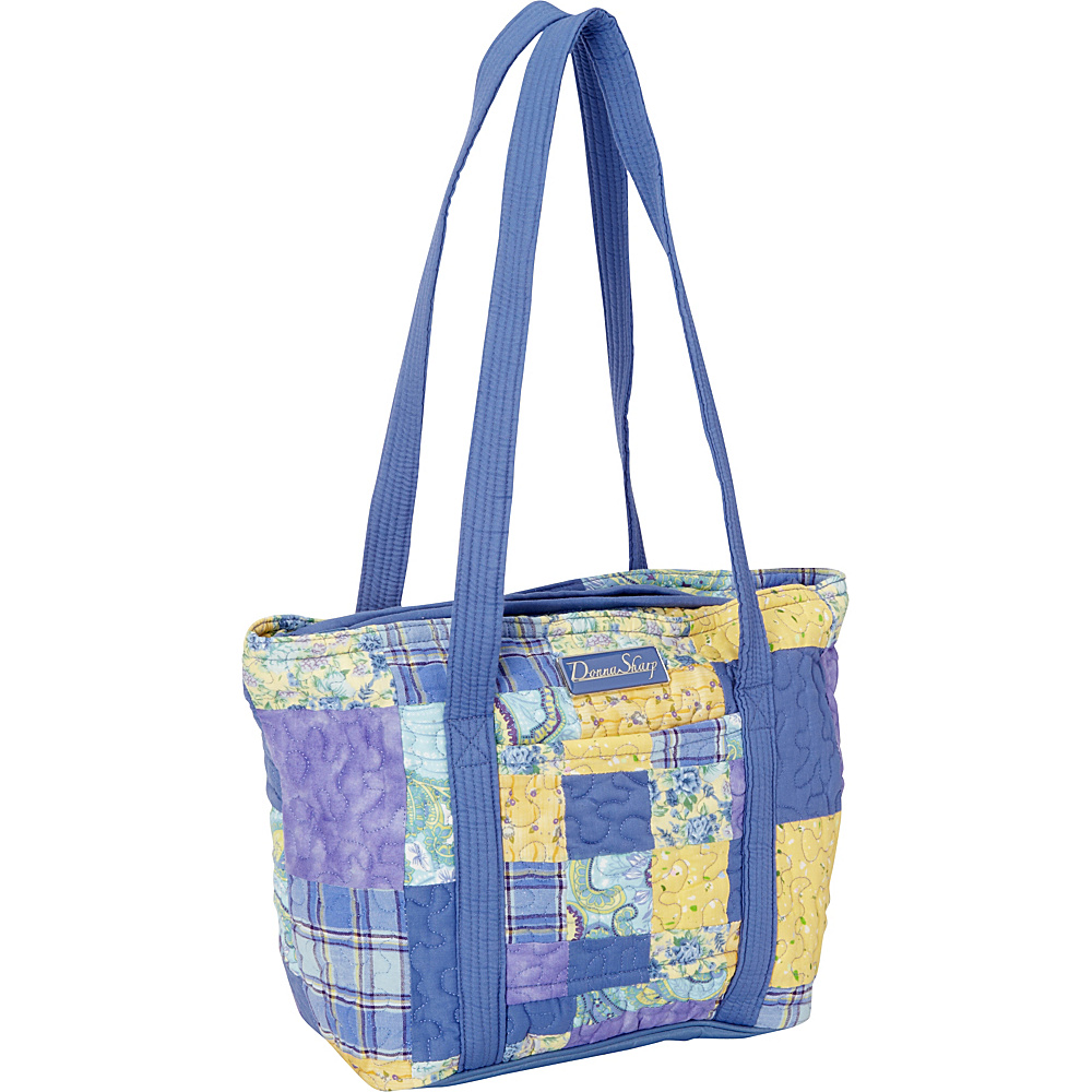 Donna Sharp Leah Tote - Quilted Lemon Drop - Donna Sharp Fabric Handbags