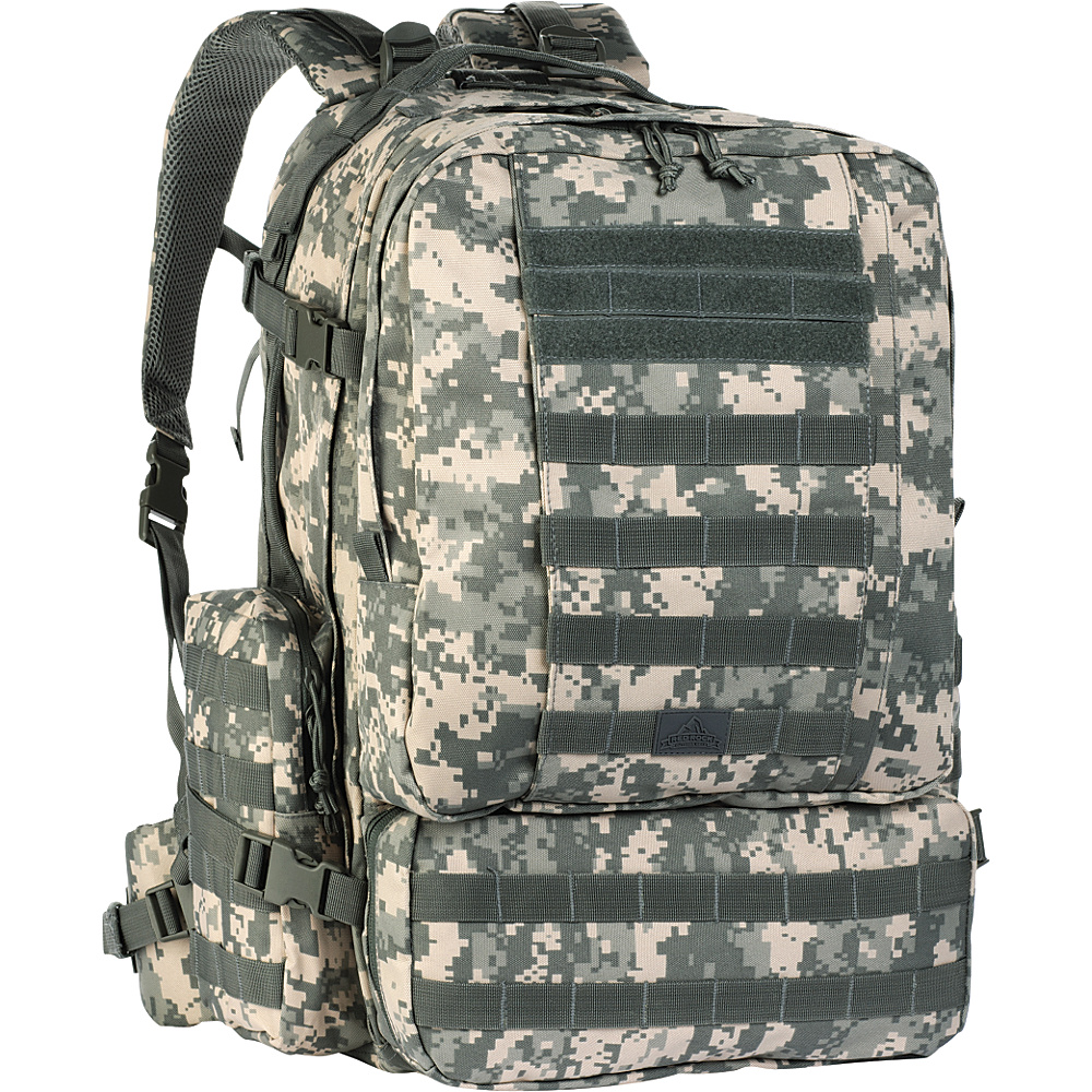 Red Rock Outdoor Gear Diplomat Pack ACU Camouflage Red Rock Outdoor Gear Day Hiking Backpacks