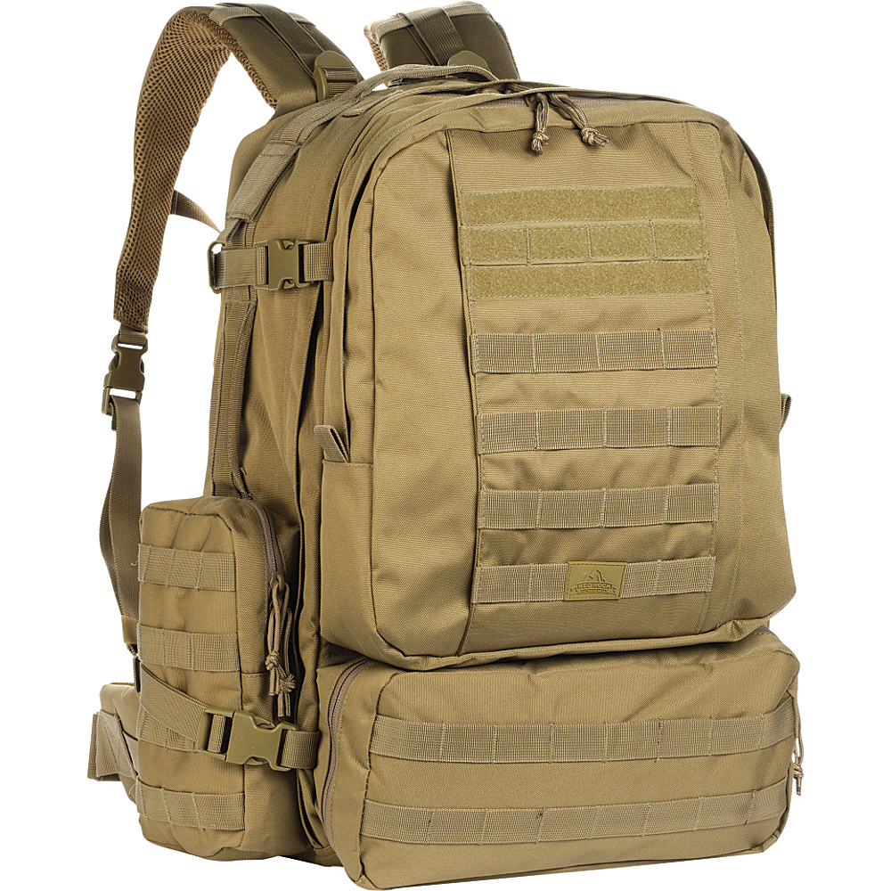 Red Rock Outdoor Gear Diplomat Pack Coyote Tan Red Rock Outdoor Gear Day Hiking Backpacks