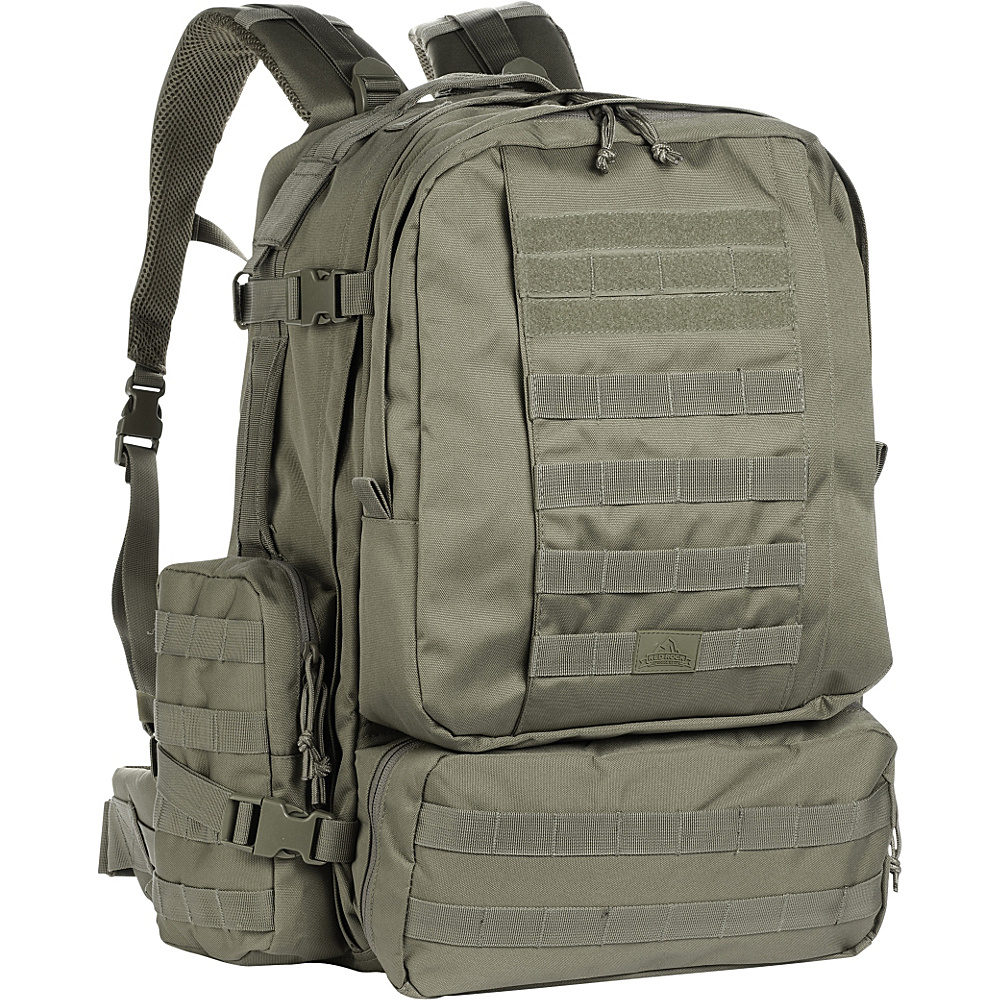 Red Rock Outdoor Gear Diplomat Pack Olive Drab Red Rock Outdoor Gear Day Hiking Backpacks