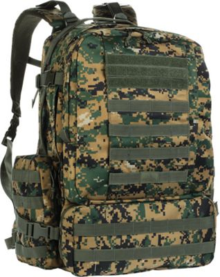 Red Rock Outdoor Gear Diplomat Pack Woodland Digital Camouflage - Red Rock Outdoor Gear Tactical
