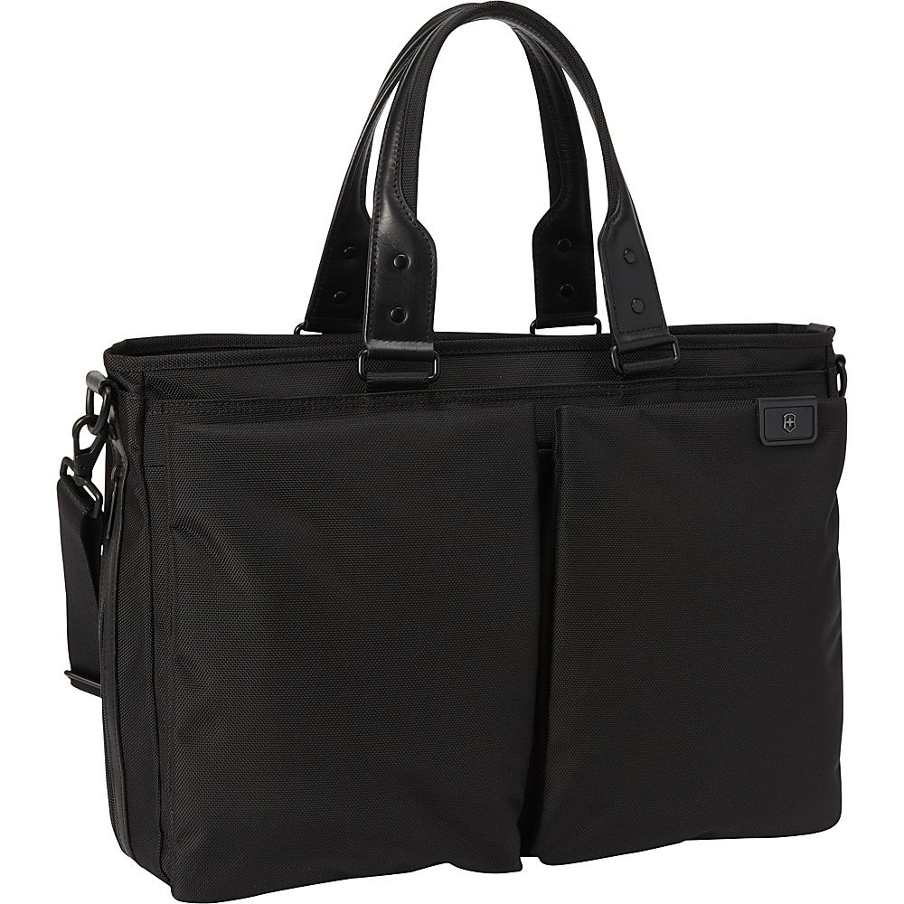 Victorinox Lexicon Satchel Black - Victorinox Luggage Totes and Satchels