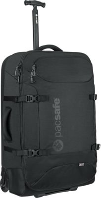 Pacsafe Toursafe AT29 Wheeled Duffel Black - Pacsafe Rolling Duffels