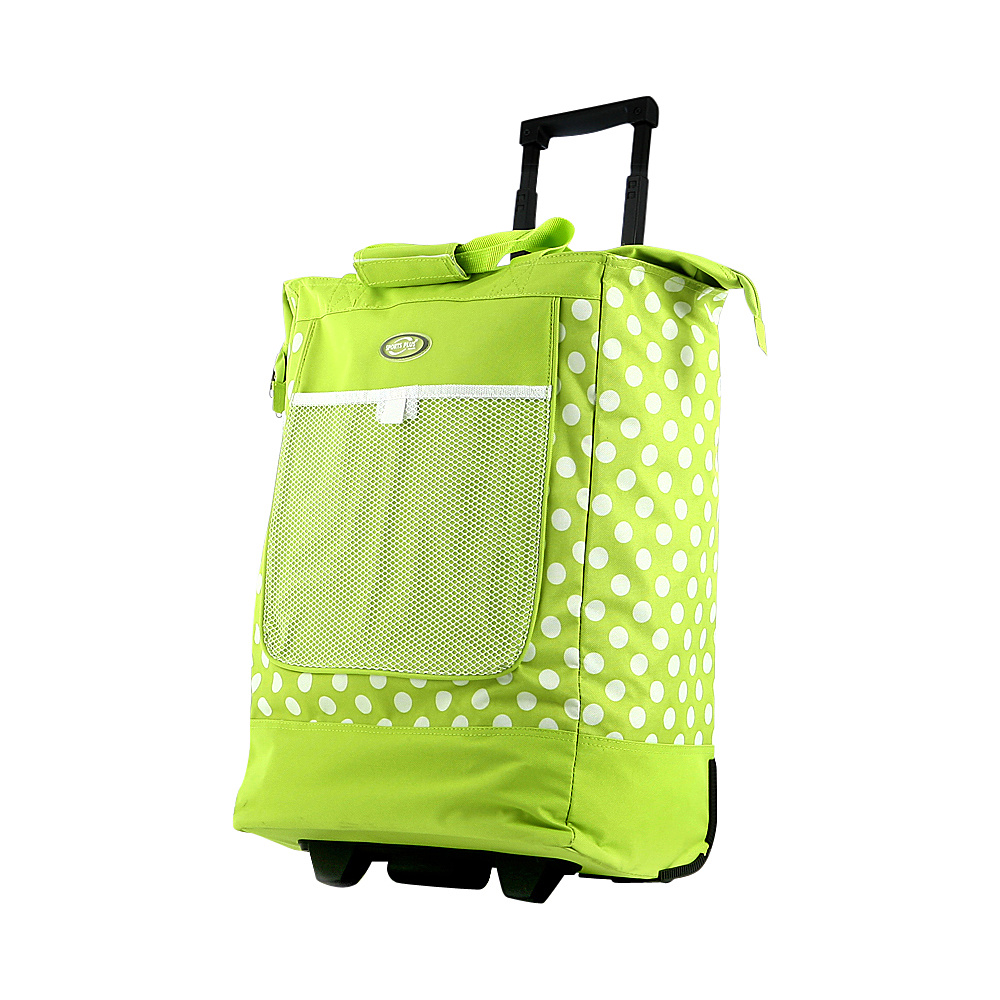 "Olympia Rolling Shopper Tote - 20"" Lime - Olympia All-Purpose Totes"