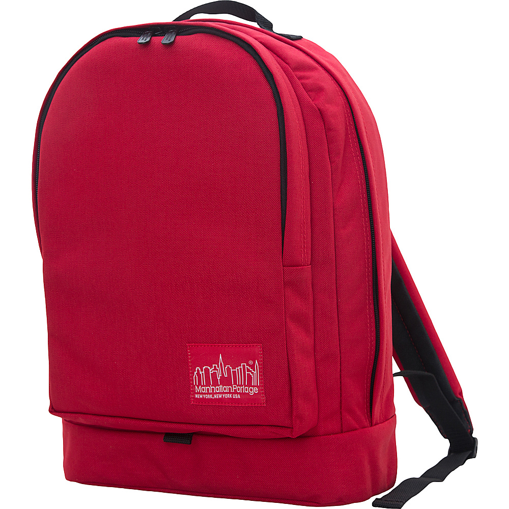 Manhattan Portage Highbridge Backpack Red Manhattan Portage Business Laptop Backpacks