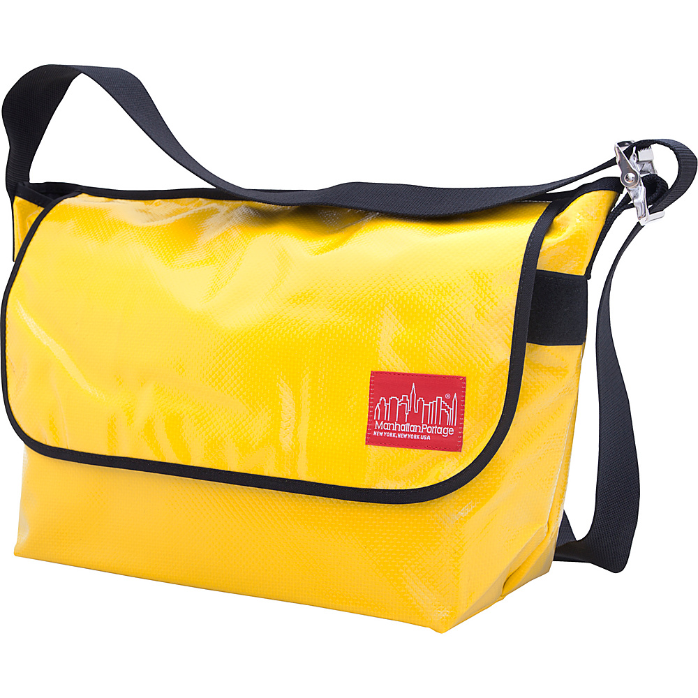 Manhattan Portage Vinyl Vintage Messenger Bag (LG) VER2 Yellow - Manhattan Portage Other Mens Bags - Work Bags & Briefcases, Other Men's Bags