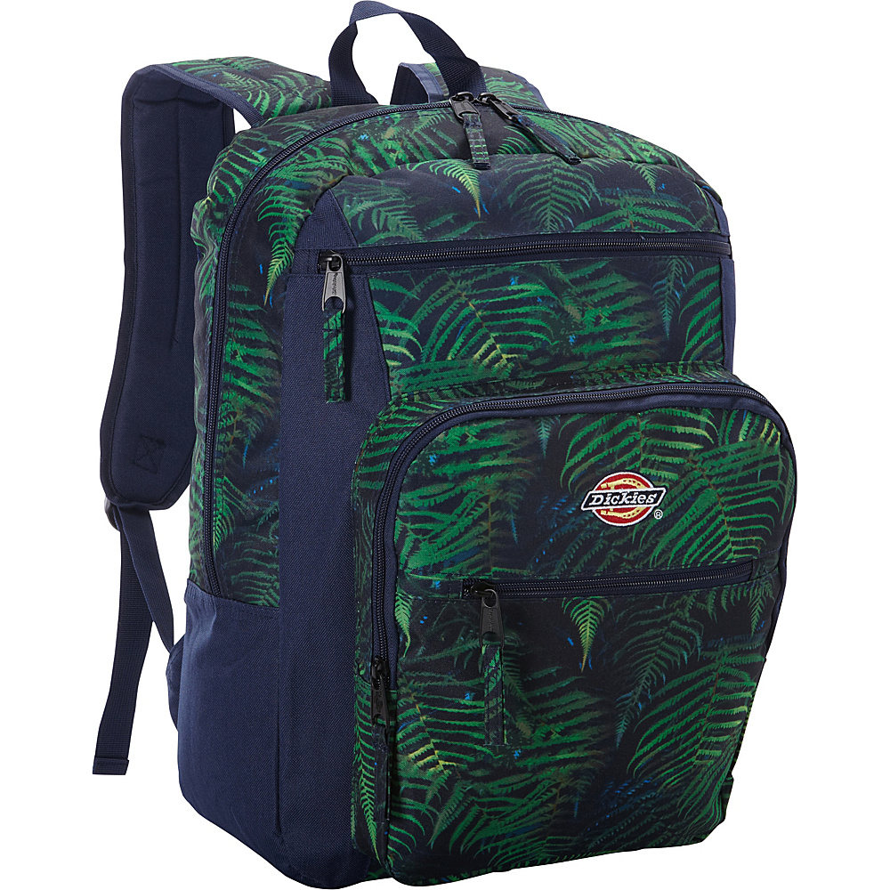 Dickies Double Deluxe Backpack FERNS PRINT Dickies Business Laptop Backpacks