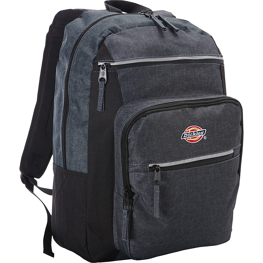Dickies Double Deluxe Backpack CHARCOAL HEATHER Dickies Business Laptop Backpacks