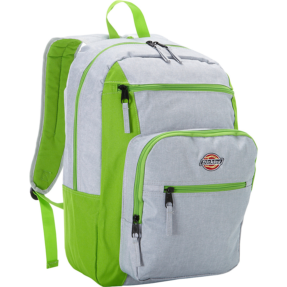 Dickies Double Deluxe Backpack GREY HEATHER Dickies Business Laptop Backpacks