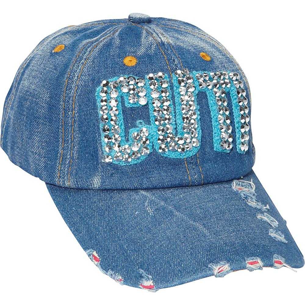 Magid Studded word cap Cuti Magid Hats Gloves Scarves