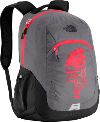 The North Face Haystack Laptop Backpack Zinc Grey/Fiery Red - The North Face Business & Laptop Backpacks