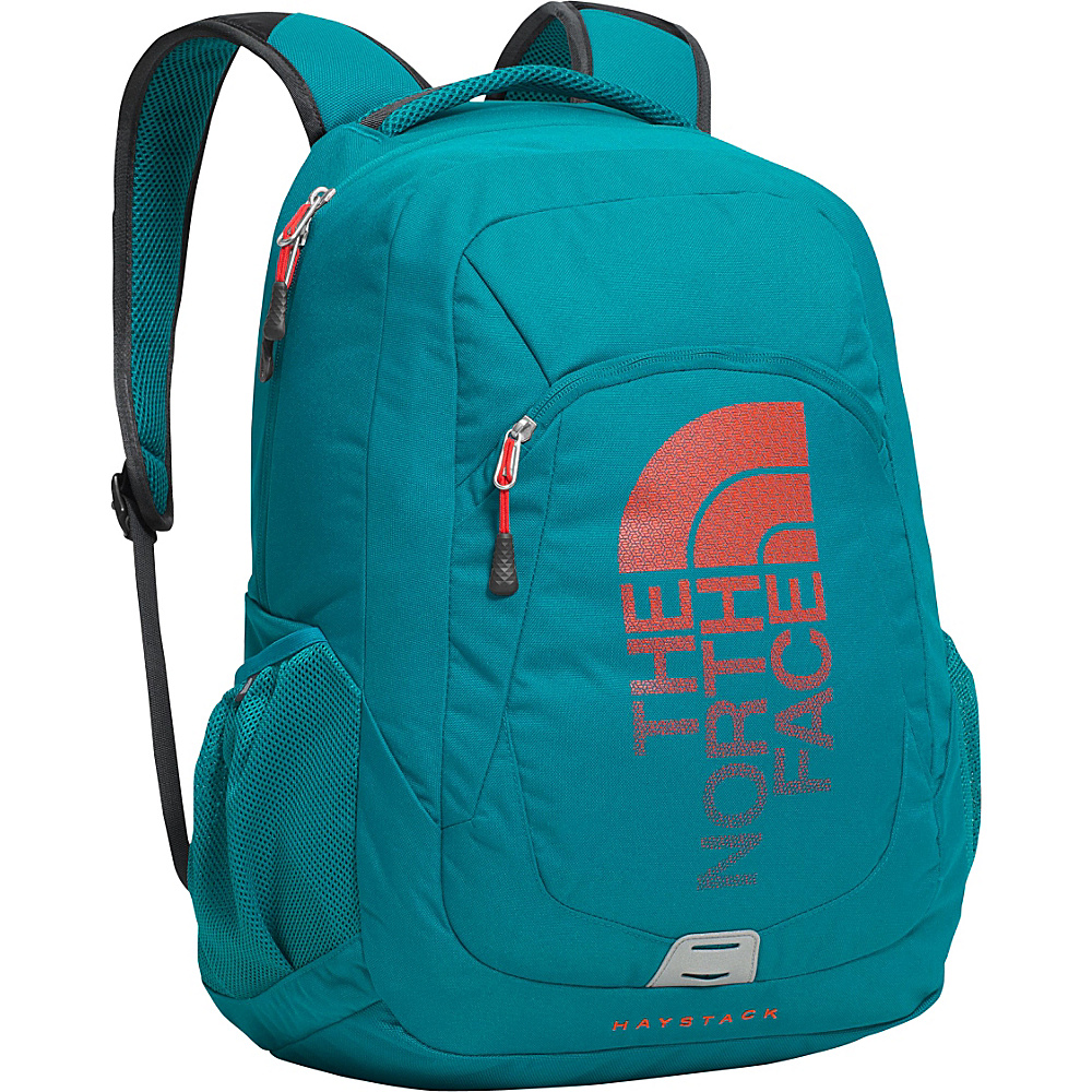 The North Face Haystack Laptop Backpack Ocean Depths Blue/Poinciana Orange - The North Face Business & Laptop Backpacks - Backpacks, Business & Laptop Backpacks