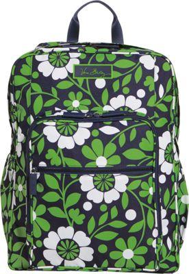 Vera Bradley Lighten Up Large Backpack Lucky You - Vera Bradley School & Day Hiking Backpacks