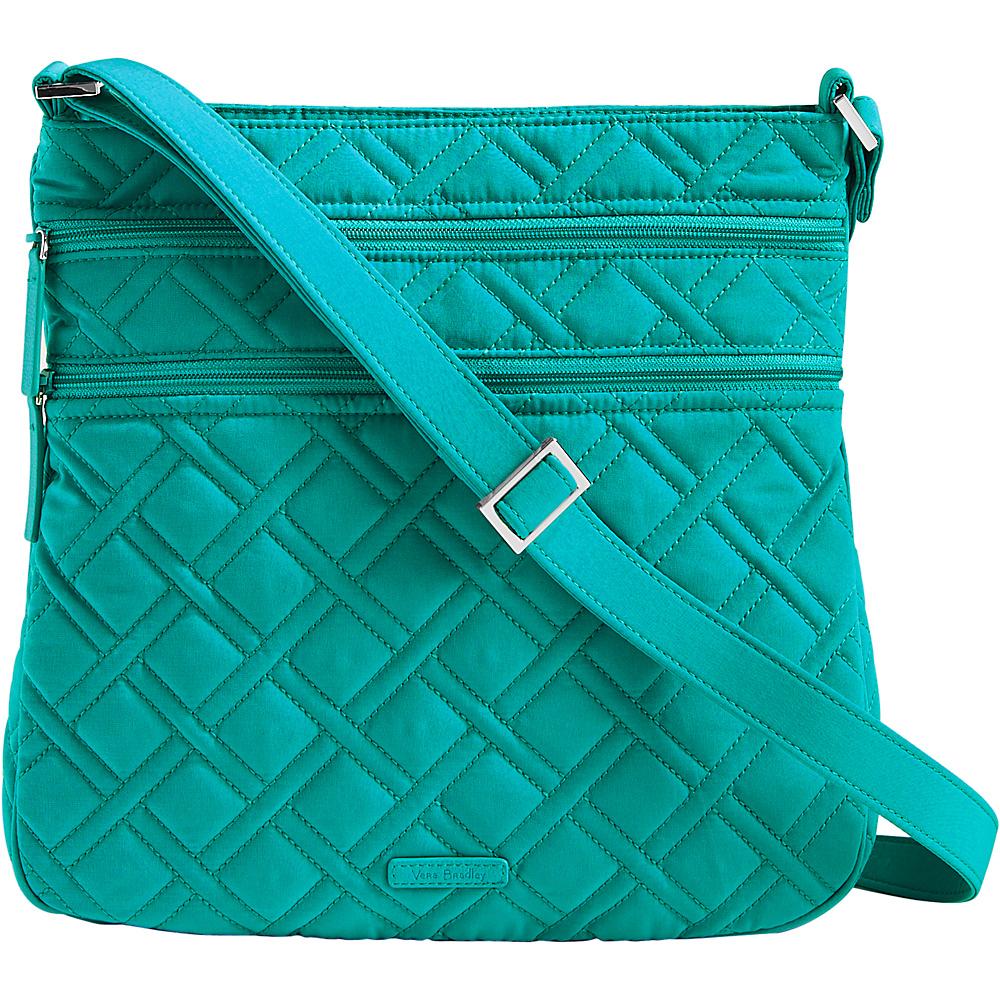 Vera Bradley Triple Zip Hipster - Solids Turquoise Sea - Vera Bradley Fabric Handbags - Handbags, Fabric Handbags