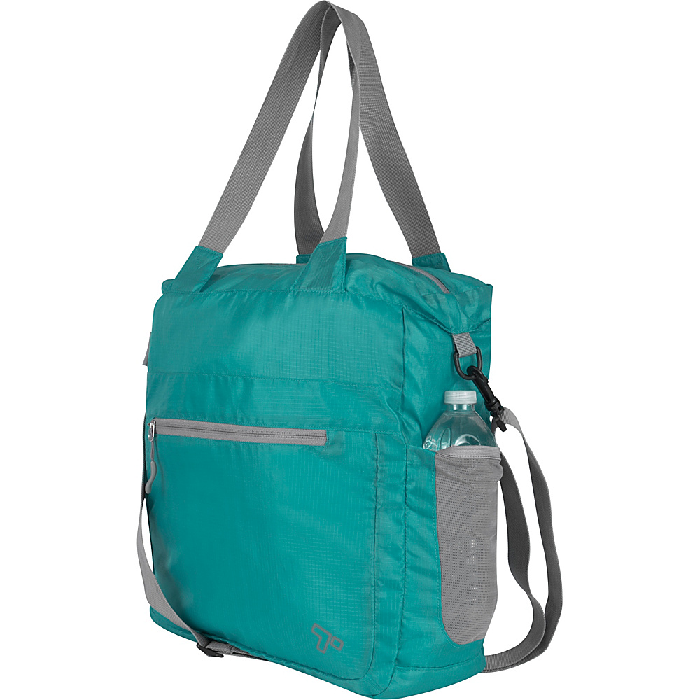 Travelon Packable Crossbody Tote Lime - Travelon Lightweight Packable Expandable Bags