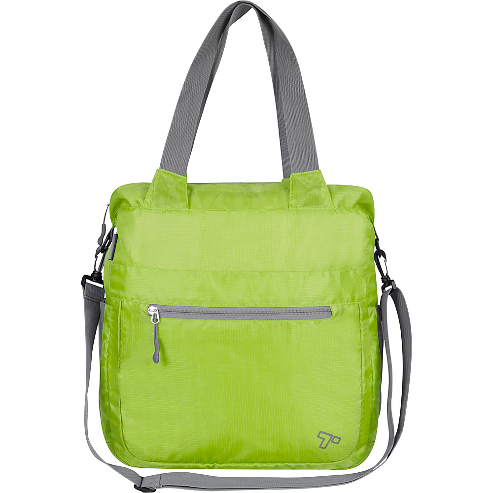 Travelon Packable Crossbody Tote Lime - Travelon Packable Bags