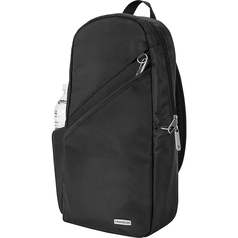 Travelon Anti-Theft Classic 14 Sling Bag - Exclusive Colors Black - Travelon Slings - Backpacks, Slings