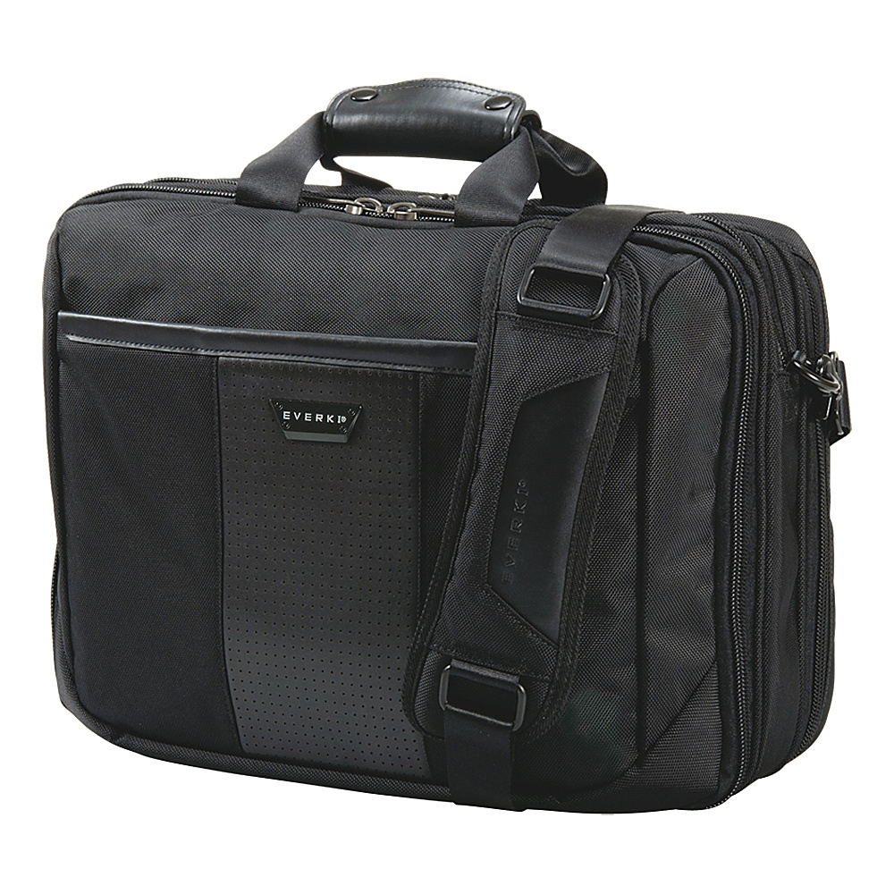 "Everki Versa Premium Checkpoint Friendly 17.3"" Laptop Bag Black - Everki Non-Wheeled Business Cases"