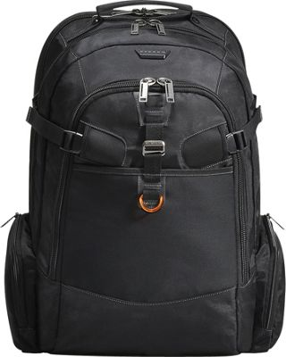 Everki Titan Checkpoint Friendly 18.4 inch Laptop Backpack Black - Everki Business & Laptop Backpacks