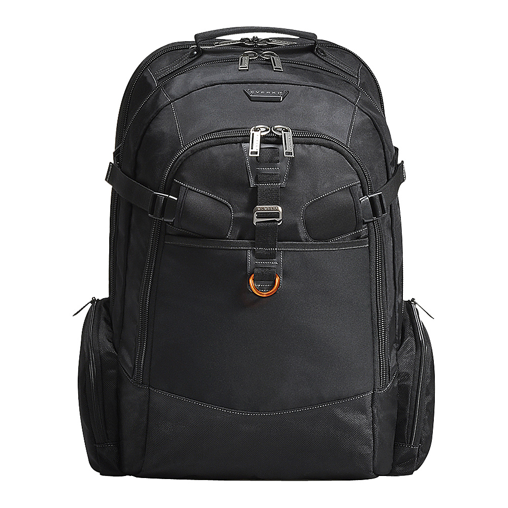 Everki Titan Checkpoint Friendly 18.4 Laptop Backpack Black Everki Business Laptop Backpacks