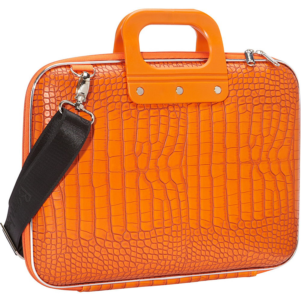 Bombata Croc 13 inch Laptop Bag Orange Bombata Non Wheeled Business Cases