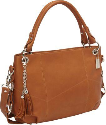 ClaireChase Andrea Tablet Shoulder Bag 3 Colors Leather ...
