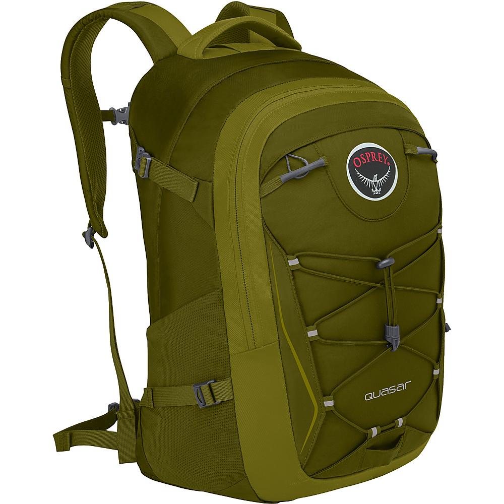 Osprey Quasar 28 Pack - 20 Olive Green - Osprey Business & Laptop Backpacks - Backpacks, Business & Laptop Backpacks