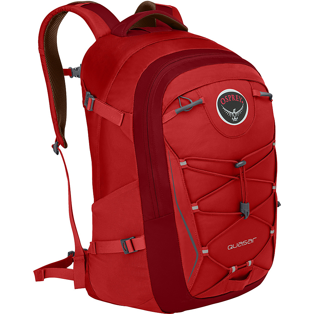 Osprey Quasar 28 Pack - 20 Robust Red - Osprey Business & Laptop Backpacks - Backpacks, Business & Laptop Backpacks