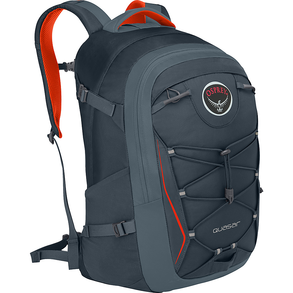Osprey Quasar 28 Pack - 20 Armor Grey - Osprey Business & Laptop Backpacks - Backpacks, Business & Laptop Backpacks