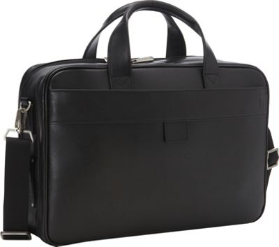 Hartmann Luggage Hartmann Luggage Heritage Double Compartment Business Case Black - Hartmann Luggage Non-Wheeled Business Cases