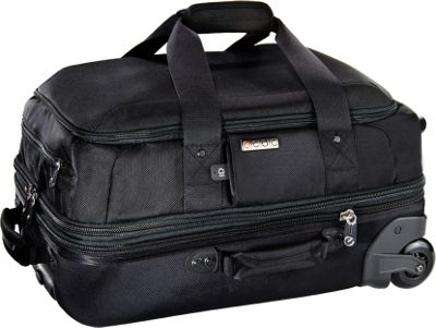 ecbc Falcon 22 inch Rolling Duffle Black - ecbc Softside Carry-On