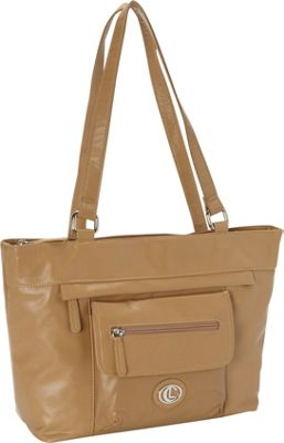 Aurielle-Carryland Super Touch Tote Tan - Aurielle-Carryland Manmade Handbags