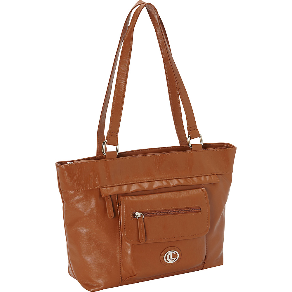 Aurielle Carryland Super Touch Tote Tobacco Aurielle Carryland Manmade Handbags