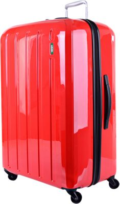 Lojel Lucid Medium Luggage Red - Lojel Hardside Checked