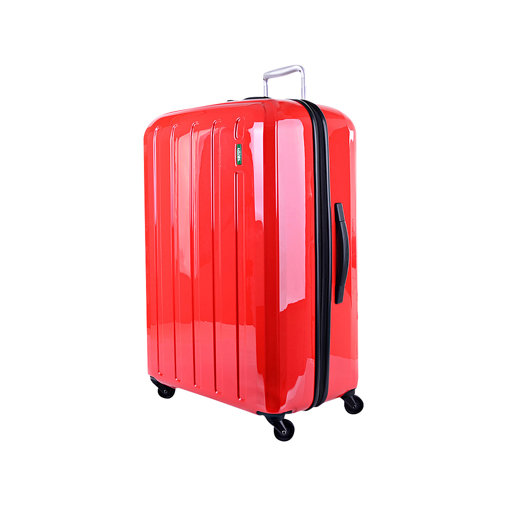 Lojel Lucid Medium Luggage Red Lojel Hardside Checked
