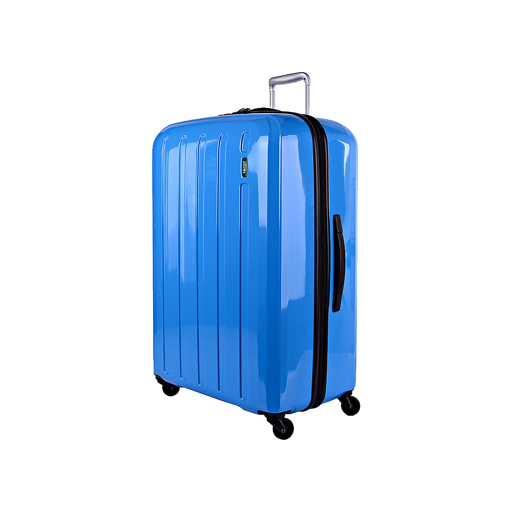 Lojel Lucid Medium Luggage Carrera Blue Lojel Hardside Checked