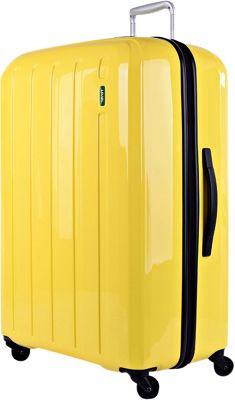 Lojel Lucid Medium Luggage Yellow - Lojel Hardside Checked