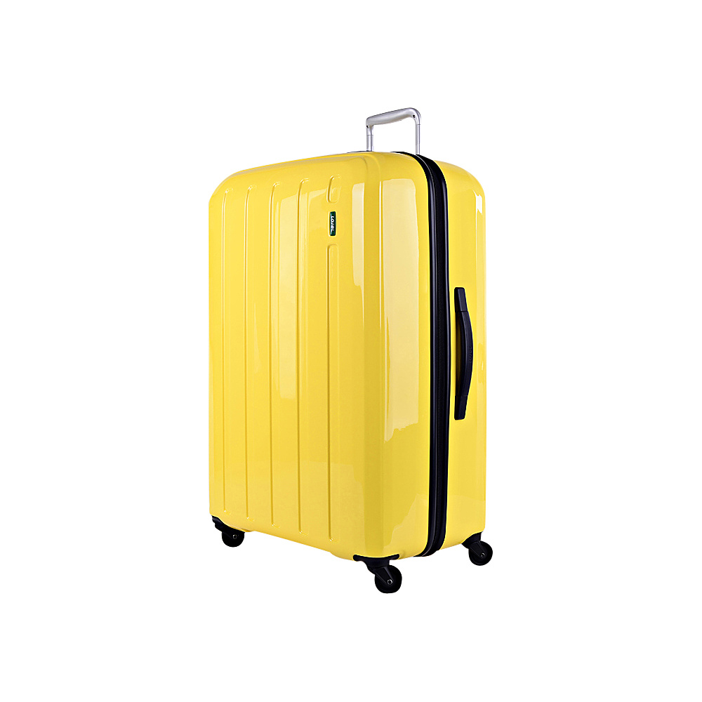 Lojel Lucid Medium Luggage Yellow Lojel Hardside Checked