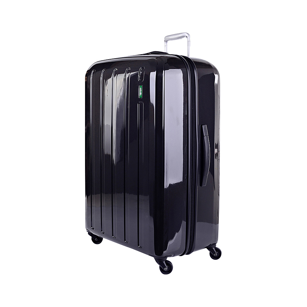 Lojel Lucid Medium Luggage Gray Lojel Hardside Checked